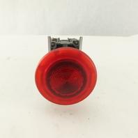 Schneider ZBV-B4 Red 24V LED Illuminated Mushroom Head E-Stop Button Maintain