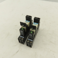 Schneider RSB1A120BD 24VDC/230V 12A  Interface Relay W/RSZE 1S35M Base Lot of 2