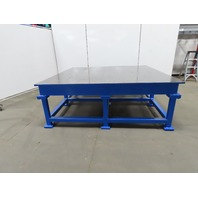 """1"""" Thick Web Top Layout Inspection Work Welding Table Bench 89-3/4x83""""-3/4""""x32"""""""