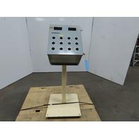 "Hoffman 16""x14""x8"" Steel Electrical Enclosure W/Back Plate & Pedestal"
