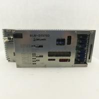 Okuma B LIV-D7575D U 0532-0006-001-11 2 Axis Servo Drive Unit
