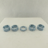 """Crouse Hinds 16X 2"""" EMT Conduit Fitting Lock Nut Lot Of 45"""