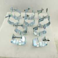 "Minerallac 4"" EMT Rigid Conduit Hanger Clamp Lot Of 10"