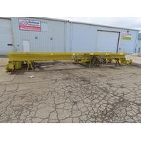 """10 Ton Double Girder Top Running Bridge Crane 31'8"""" Span W/R&M Wire Rope Hoist"""
