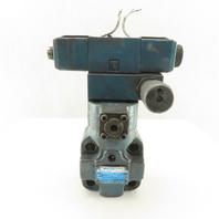 Vickers TCG62-06-FV-C-P2-T Tokimec 105-210 kgf/cm2 Pressure Relief Valve
