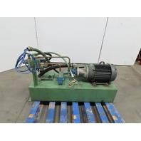 10 Hp 45 Gallon Hydraulic Power Unit 230/460V 3 PH W/Vickers Vane Pump