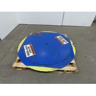 """T&S Equipment 51"""" Floor Height Pallet Turn Table Carousel Disc 4000LB"""