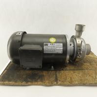 "Finish Thompson AC5STS3V478B015C25 3Hp 208-460V 152GPM 2x1-1/2"" Centrifugal Pump"