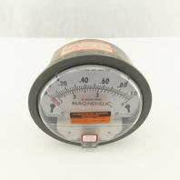 Magnehelic 2001AV 0-1.0 x 1000 FPM Inches Of Water 15 PSIG Pressure Gauge
