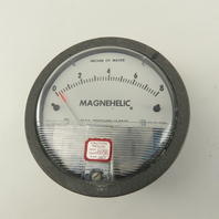 Magnehelic 2008C 0-8  Inches Of Water 15 PSIG Differential Pressure Gauge