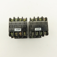 Fuji Electric SRC3631-02 600V 6kW Magnetic Contactor 110V Coil Lot Of 2
