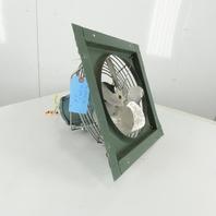 """Reliance Lau C48H2502R 1/4Hp 1725RPM 115/230V 12"""" Exhaust Fan"""