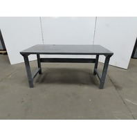 "30"" W x 60""L x 30"" H 11 Gauge Steel Metal Work Bench Table"