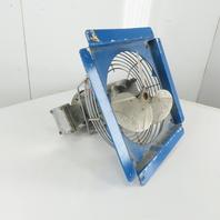 "Baldor M6002A 1/4Hp 1725RPM 208-230/460V 12"" Hazardous Location Exhaust Fan"