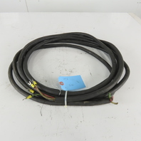 Carol 12/4 Bus Drop 4/C 12 AWG SOOW 600V Cable 25'6""