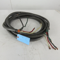 6/3 Bus Drop 3/C 6 AWG Unshielded Ground 600V Cable 29'6""