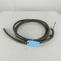 6/3 Bus Drop 3/C 6 AWG Unshielded Ground 600V Cable 14'