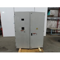 """Electrical Enclosure 2 Door W/Back Plate 65""""x51""""x17"""""""