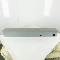 """Square D 6 X 6 X 48"""" Expandable Modular Wire Way Lay In Gutter Trough"""