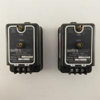 "Setra C264 10"" WC 18-32 VDC  Pressure Transducer Lot Of 2"