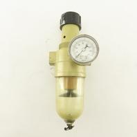 Norgren B12-400-M3LA 1/2NPT Air Pressure Regulator Filter Assembly 150PSI