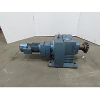 SEW-EURODRIVE R147R87DV132S4BMG8HR Helical Gearmotor 7.5HP 230/460V 3PH 8.1 RPM