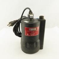 Utilitech PPU33 1/3Hp 115V 1Ph Submersible Utility Pump