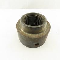 3-1/2-4 Thread Column Shaft Round Carbon Steel Nut