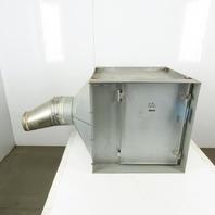 "Cambridge SFS2020 Side-Flo 24"" x 24"" x 2"" Pleated Air Filter Return Plenum Box"