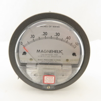 Dwyer 2000-0C Magnehelic 0-.50 In./Water Vertical Calibrated Pressure Gauge