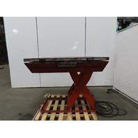 "Presto XL36-60CH TNT 5500LB Hydraulic Scissor Lift Table 56x48"" Turn Top 460V"