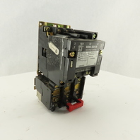 Square D Class 8536 SAG 12 Motor Starter Overload 600VAC 2Hp 480V Coil