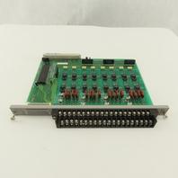 Texas Instrument 505-4616 16 x 24-110V Output Module Card Circuit Board PLC