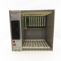 Texas Instrument 505-6660 System 505 Power Supply & 8 Slot Rack