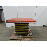 """Presto DXS30-10 Hydraulic Double Scissor Lift Table 1000Lb 50"""" x 30"""" 120V 1Ph"""