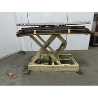 "American Lifts 4000LB Hydraulic Scissor Lift Table 64-1/2x34-1/2"" Turn Top 460V"