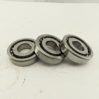 NTN BST25X62 25 x 62 x 15mm Precision Angular Contact Ball Bearing Used Lot Of 3