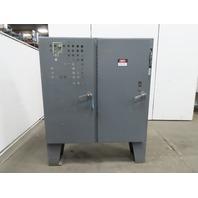 """Hoffman 60""""x61""""x12"""" Double Door Freestanding Electrical Enclosure W/Back Plate"""
