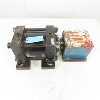 """Ortman 3TH J 6X3/S8S 6"""" Bore 3"""" Stroke Hydraulic Cylinder 3-1/2"""" Rod"""