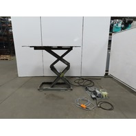 "Autoquip P-48-030S 3000Lb Hydraulic Scissor Lift Table 63""x48"" 115V Single Phase 1Ph"