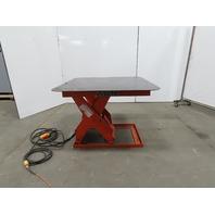 "Presto 4000Lb Hydralic Scissor Lift 44x44"" Table 7-1/2-32"" Ht 115V Single Phase"