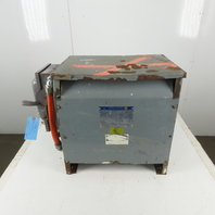 Square D 30T3H 30 KVA Transformer 3 Phase 480 High Voltage  208Y/120 Low Voltage