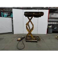 "1500 LB Hydraulic Scissor Lift Table 48""x24"" 12"" to 84""""Ht. 230/460V 3Ph"