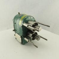 Tri Clover PRE1020M-Y-YH4-S-T Rotary Lobe Pump Rotor Head