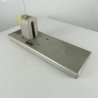 """Stainless Steel Pump Motor Pallet Mount For Horizontal Set Up 10"""" x 30"""""""