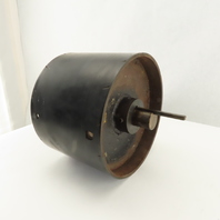 """8-5/8"""" OD Lagged 6-1/4"""" Face Conveyor Drum Roller Pulley 1-1/4"""" Keyed Shaft"""