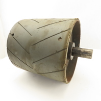 """8-5/8"""" OD Lagged 8-3/4"""" Face Conveyor Drum Roller Pulley 1-1/4"""" Keyed Shaft"""