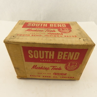 South Bend Lathe Vintage Machine Tools Empty Box Advertainment Tool Shop Display