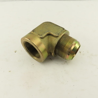 "1-7/8-12 (-24) Male JIC Flare x 1-1/2"" NPT Female 90° Elbow"