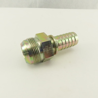 "Gates 16-20MJ 1-5/8-12 (-20) JIC Male Flare x 1"" Hose Barb Hydraulic Fitting"
